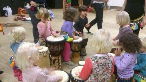 Jungletrommer Og Dans For Børn Fra 3,5 år