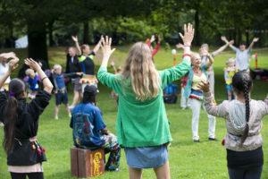 Jungletrommer Og Dans For Børn-BH.-skolebørn Kl. 11
